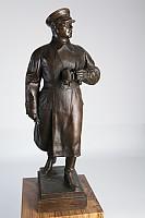 Бронзовая статуэтка маршала СССР К.Е. Ворошилова