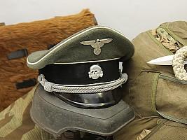 Ранняя фуражка офицера Войск-СС