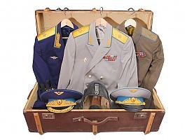 Чемодан с личными вещами генерала-майора авиации, заслуженного военного летчика, СССР