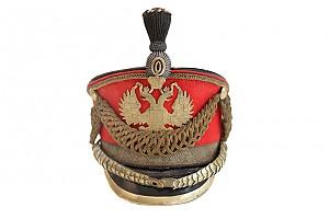Парадный генеральский кивер обр. 1910 г.