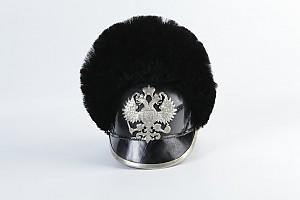 Каска обр. 1909 г. нижних чинов драгунского финляндского полка