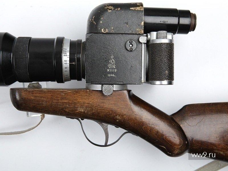 Фотографическое ружье этьена маре